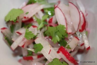Radijs salade