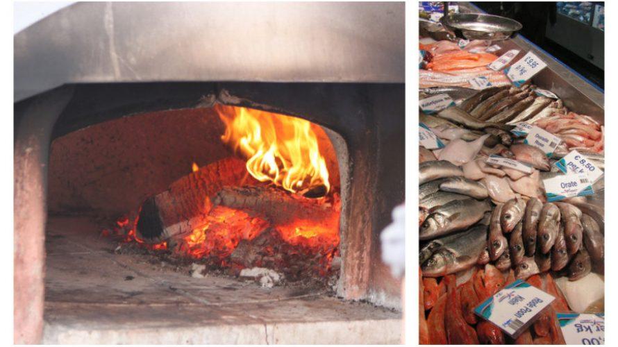 Vis bereiden in de oven