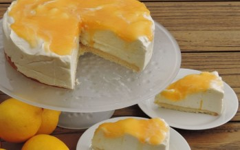 Lemoncurd 'niet-in-de-oven' cheesecake