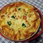 Broccoli-brie quiche