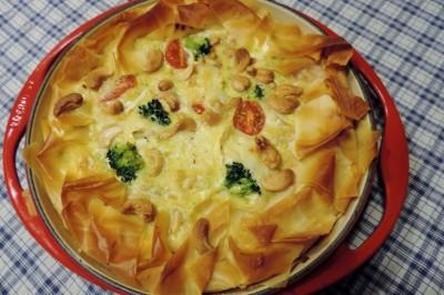 broccoli brie quiche (1)