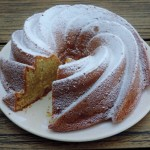 Citroen yoghurt cake, lekker fris en fruitig