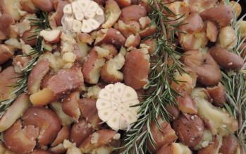 Roseval aardappeltjes uit de oven met aïoli
