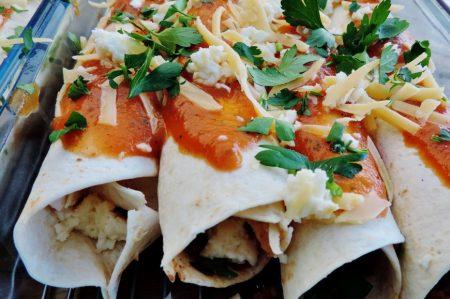 Mexicaanse Enchilada's zelf maken