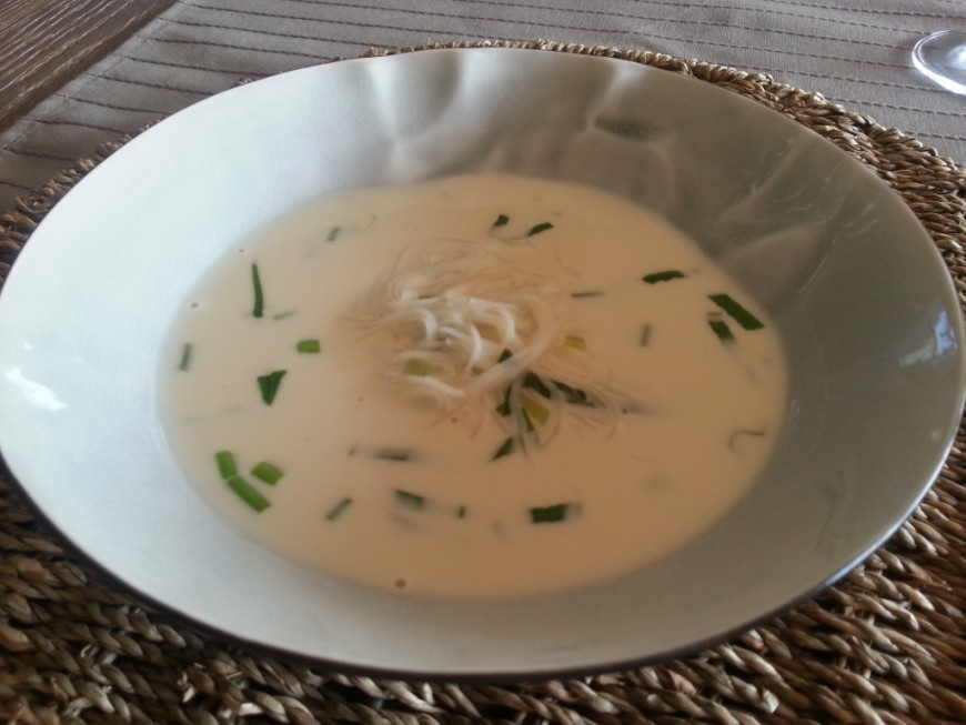 Thaise aspergesoep