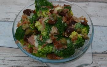 Broccoli salade, smullen in het zomerzonnetje