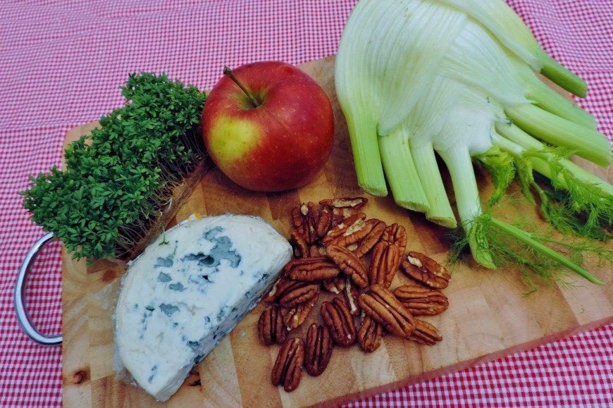 Salade met venkel ingrediënten
