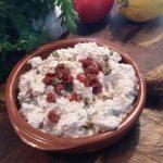 Tonijnsalade met yoghurt en groene peperkorrels