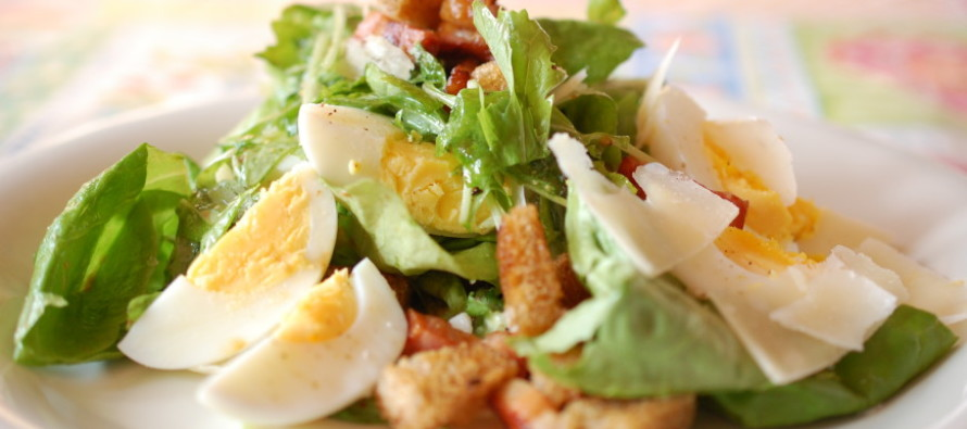 Salade Rustica: Italiaanse boerensalade, ook voor mannen!