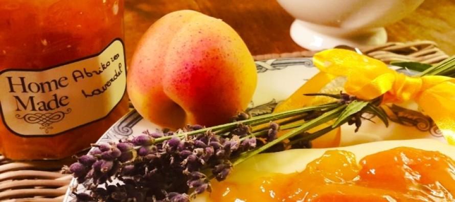 Abrikozenjam met lavendel; De smaken van de Provence