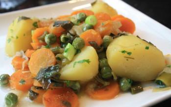 Groenten stoven
