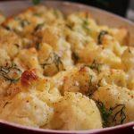Aardappel-bloemkoolgratin, eenvoudig en lekker