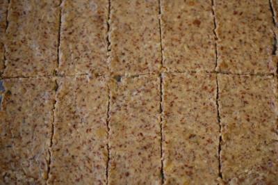 crackers in de maak