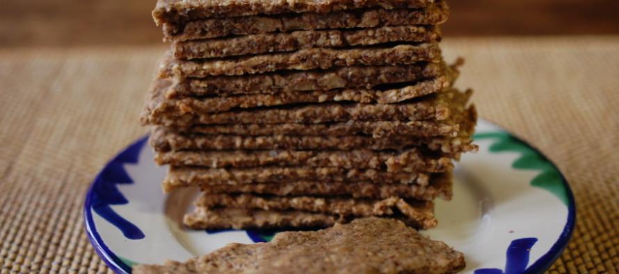 Crackers uit de blender