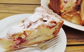 Appeltaart met verse cranberry's – Doe eens iets anders met appeltaart!
