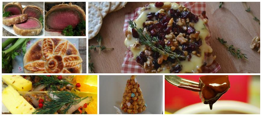 Kerstmenu - recepten - ideeën - voorgerechten - hoodgerechten - bijgerechten - dessert