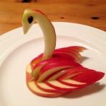 Appel, kunstig garneren