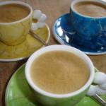 Koffie 'semifreddo' – zelfgemaakt koffie ijs