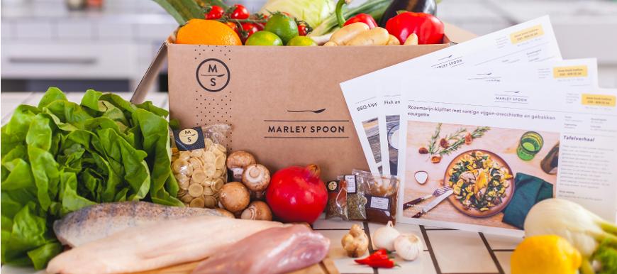 Marley Spoon Vluchtelingen foodbox