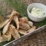 Sprotfilets in tempura; Verrassende variant op kibbeling