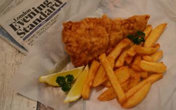 Fish & Chips, een echte Britse klassieker