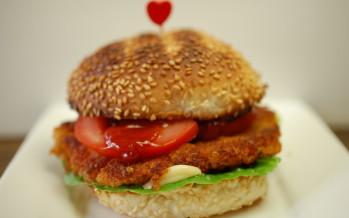 Vegetarische hamburgers maken