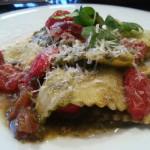 Ravioli met ricotta en spinazie (of snijbiet)