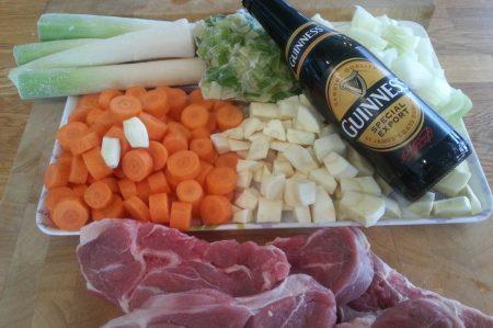 Irish stew ingrediënten
