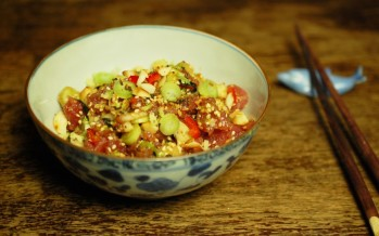 Vier poke recepten; het beste uit Hawaï - en Japan