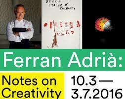 tentoonstelling over Ferran Adrià