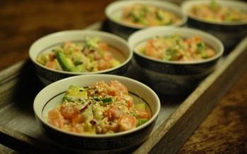 Vier poke recepten; het beste uit Hawaï - en Japan  Vier poke recepten; het beste uit Hawaï - en Japan