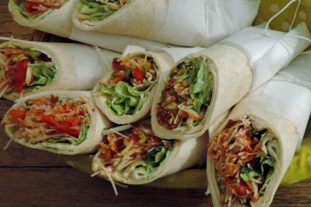 Salade wraps