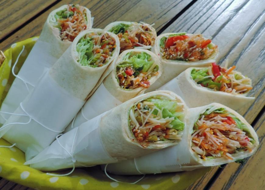 Beste Salade wraps met een royale Thaise vulling | Lekker Tafelen MP-48