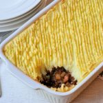 Cottage pie; Engels comfort food