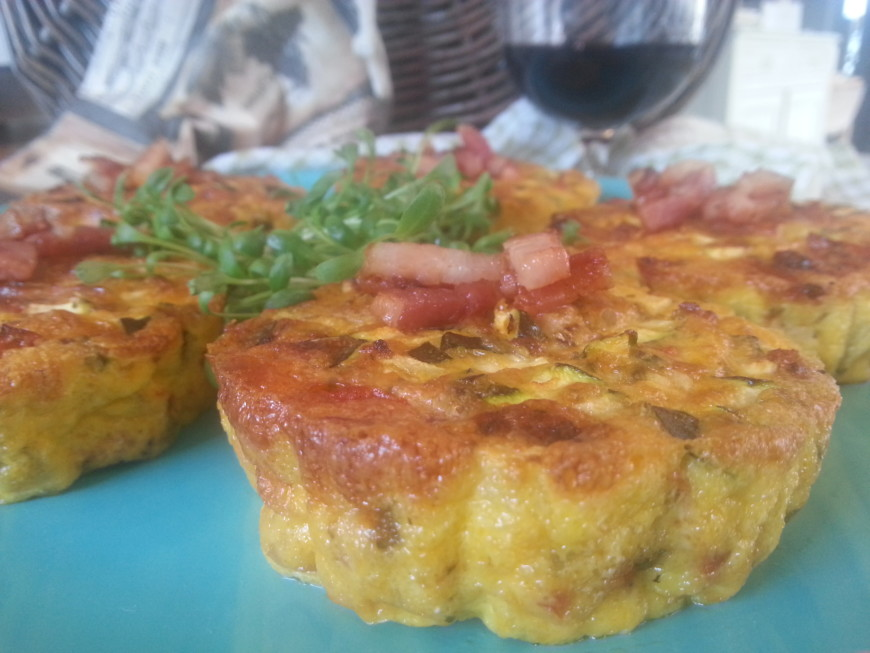 courgette flan