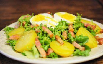 Frisee salade met spekjes uit de Vogezen