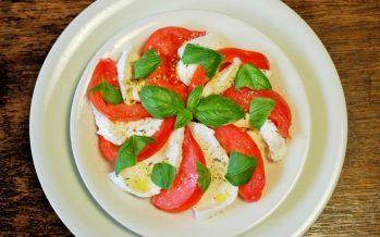 Salade Caprese; de enige echte
