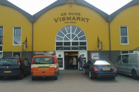 Texelse streekproducten vismarkt