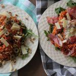 Olijven risotto op 2 manieren
