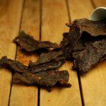 Beef jerky; vlees voor avontuurlijke mannen