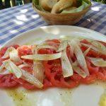 Coeur de boeuf tomaten salade