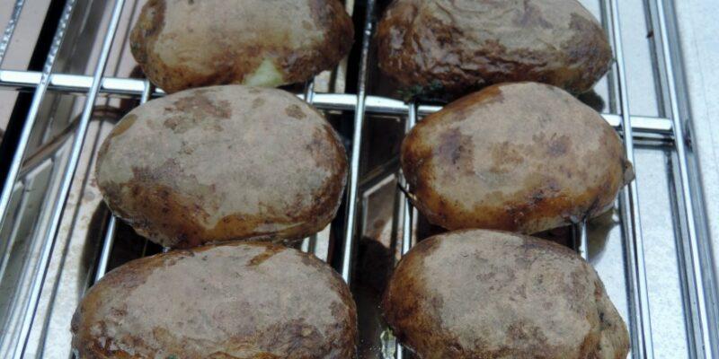 Aardappels van de barbecue (1)
