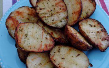 Aardappels van de barbecue