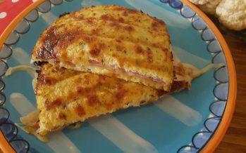 Bloemkool tosti, een andere manier om je groenten te eten