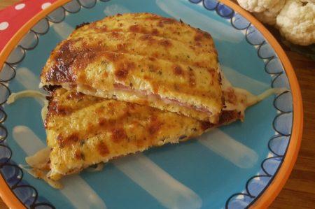 Lunchen - Bloemkool tosti