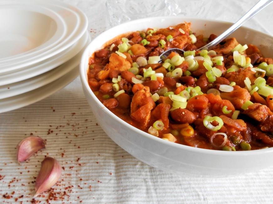 Chili con pollo; super 'vlug klaar' gerecht   Lekker Tafelen