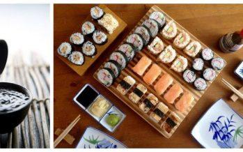 Sake bij sushi en sashimi