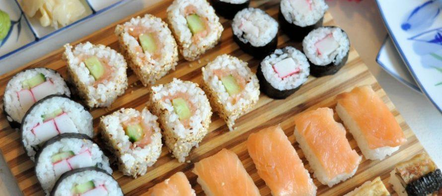 Sushi, voor een gezellige avond!