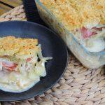 Zomerse ovenschotel met groenten en kaas