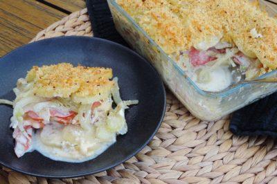 Zomerse ovenschotel met groenten en kaas (1)